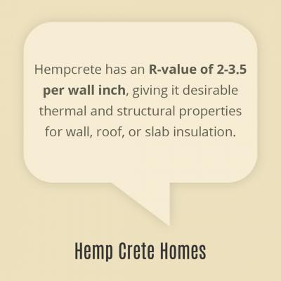 hempcrete R-value