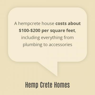 hempcrete cost